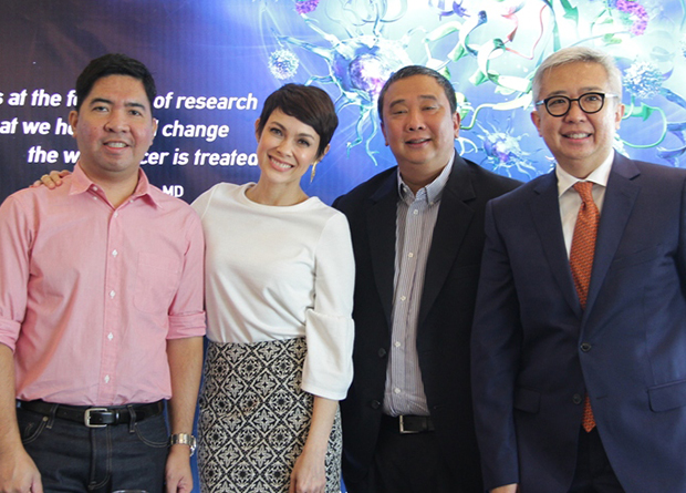 """MSD Oncology presented """"Usapang Kanser Lung"""", which tackled a treatment that uses the body's own immune system to help fight cancer. This event was attended by the likes of Dr. Gary Lorenzo, the oncologist of Sen. Miriam Santiago, Dr. Gerry Cornelio, the oncologist of Tirso Cruz III, and Mike Espina, lung cancer survivor."""