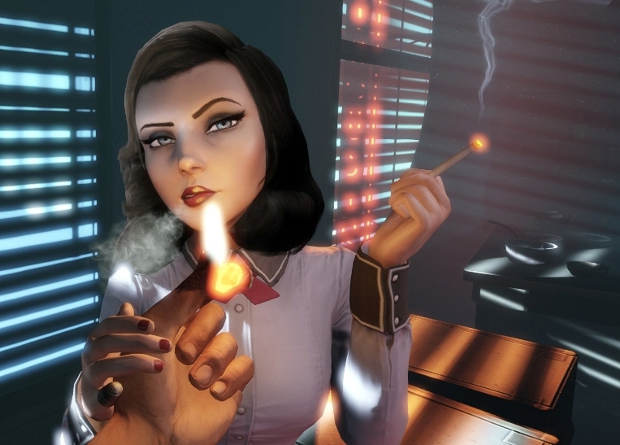 Ciggy smoking in video games