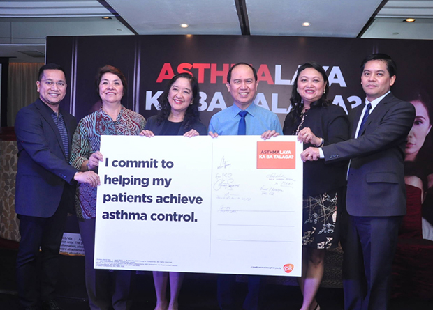 At the observance of the World Asthma Day 2016