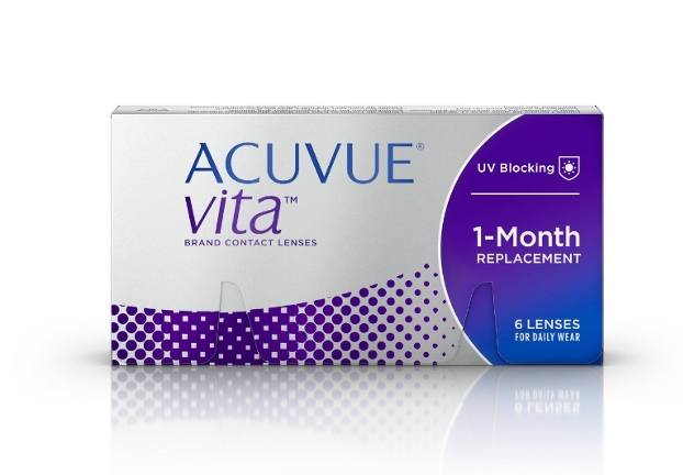 'ACUVUE VITA' 30-day daily wear contact lens launched ...